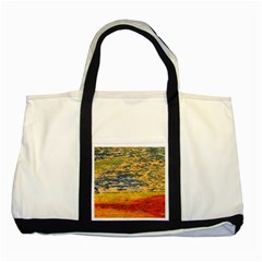 The Framework Drawing Color Texture Two Tone Tote Bag