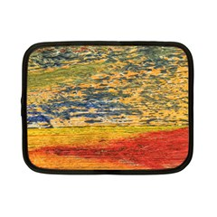The Framework Drawing Color Texture Netbook Case (small)