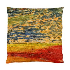 The Framework Drawing Color Texture Standard Cushion Case (one Side)
