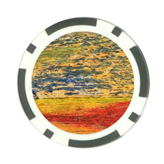 The Framework Drawing Color Texture Poker Chip Card Guard (10 Pack)