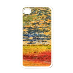 The Framework Drawing Color Texture Apple Iphone 4 Case (white)