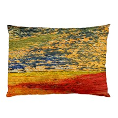 The Framework Drawing Color Texture Pillow Case (two Sides)