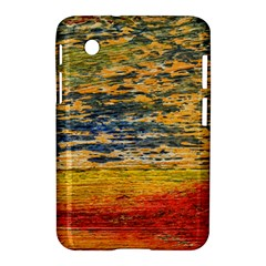 The Framework Drawing Color Texture Samsung Galaxy Tab 2 (7 ) P3100 Hardshell Case