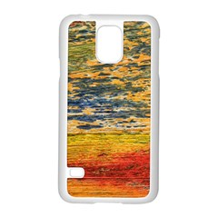 The Framework Drawing Color Texture Samsung Galaxy S5 Case (white)
