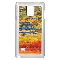 The Framework Drawing Color Texture Samsung Galaxy Note 4 Case (white)