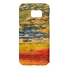 The Framework Drawing Color Texture Samsung Galaxy S7 Edge Hardshell Case