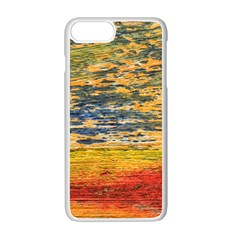 The Framework Drawing Color Texture Apple Iphone 7 Plus Seamless Case (white)