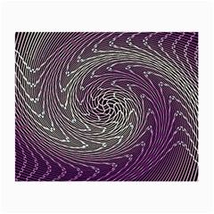 Graphic Abstract Lines Wave Art Small Glasses Cloth (2 Side)