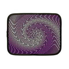 Graphic Abstract Lines Wave Art Netbook Case (small)