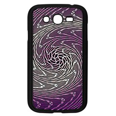 Graphic Abstract Lines Wave Art Samsung Galaxy Grand Duos I9082 Case (black)