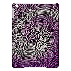 Graphic Abstract Lines Wave Art Ipad Air Hardshell Cases