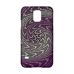 Graphic Abstract Lines Wave Art Samsung Galaxy S5 Hardshell Case