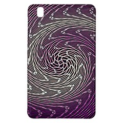Graphic Abstract Lines Wave Art Samsung Galaxy Tab Pro 8 4 Hardshell Case