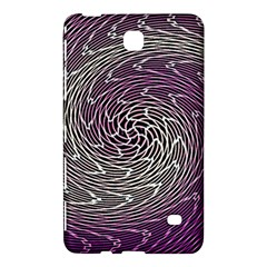 Graphic Abstract Lines Wave Art Samsung Galaxy Tab 4 (8 ) Hardshell Case