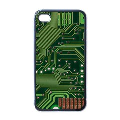 Board Computer Chip Data Processing Apple Iphone 4 Case (black)