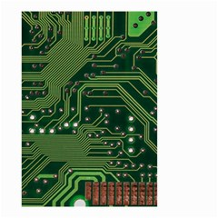 Board Computer Chip Data Processing Small Garden Flag (two Sides)