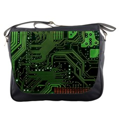 Board Computer Chip Data Processing Messenger Bags