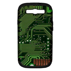Board Computer Chip Data Processing Samsung Galaxy S Iii Hardshell Case (pc+silicone)