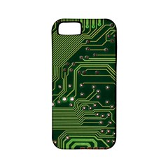 Board Computer Chip Data Processing Apple Iphone 5 Classic Hardshell Case (pc+silicone)