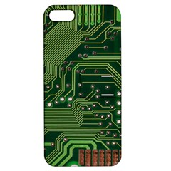Board Computer Chip Data Processing Apple Iphone 5 Hardshell Case With Stand