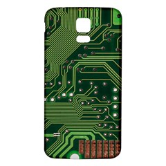 Board Computer Chip Data Processing Samsung Galaxy S5 Back Case (white)