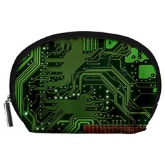 Board Computer Chip Data Processing Accessory Pouches (large)