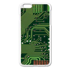 Board Computer Chip Data Processing Apple Iphone 6 Plus/6s Plus Enamel White Case