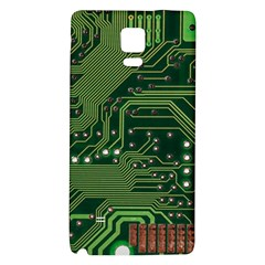Board Computer Chip Data Processing Galaxy Note 4 Back Case