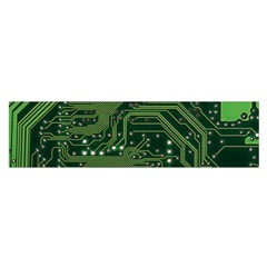 Board Computer Chip Data Processing Satin Scarf (oblong)