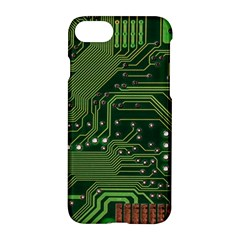 Board Computer Chip Data Processing Apple Iphone 8 Hardshell Case