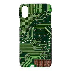 Board Computer Chip Data Processing Apple Iphone X Hardshell Case