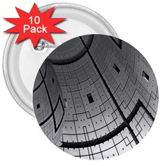 Graphic Design Background 3  Buttons (10 Pack)
