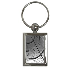 Graphic Design Background Key Chains (rectangle)