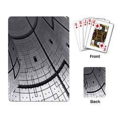 Graphic Design Background Playing Card