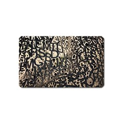 Pattern Design Texture Wallpaper Magnet (name Card)