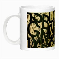 Pattern Design Texture Wallpaper Night Luminous Mugs