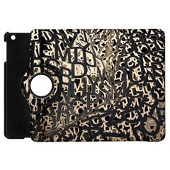 Pattern Design Texture Wallpaper Apple Ipad Mini Flip 360 Case