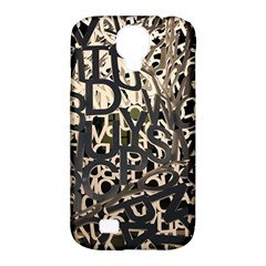 Pattern Design Texture Wallpaper Samsung Galaxy S4 Classic Hardshell Case (pc+silicone)