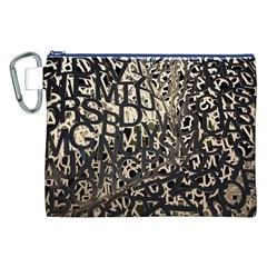 Pattern Design Texture Wallpaper Canvas Cosmetic Bag (xxl)