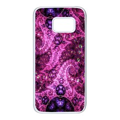 Fractal Art Digital Art Samsung Galaxy S7 White Seamless Case
