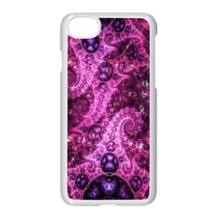 Fractal Art Digital Art Apple Iphone 7 Seamless Case (white)
