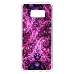Fractal Art Digital Art Samsung Galaxy S8 Plus White Seamless Case