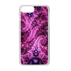 Fractal Art Digital Art Apple Iphone 8 Plus Seamless Case (white)