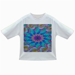 Fractal Curve Decor Twist Twirl Infant/toddler T Shirts