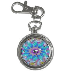 Fractal Curve Decor Twist Twirl Key Chain Watches