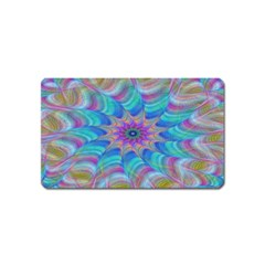 Fractal Curve Decor Twist Twirl Magnet (name Card)