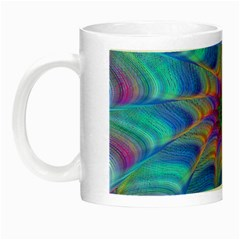 Fractal Curve Decor Twist Twirl Night Luminous Mugs