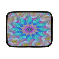 Fractal Curve Decor Twist Twirl Netbook Case (small)