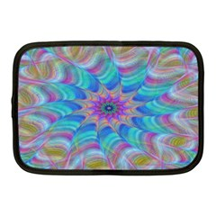 Fractal Curve Decor Twist Twirl Netbook Case (medium)