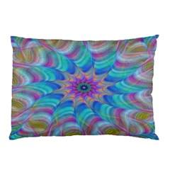 Fractal Curve Decor Twist Twirl Pillow Case